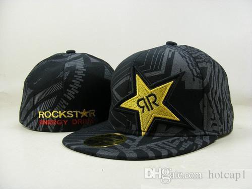 2018 Newest Fashion Rockstar Fitted Hats For Men Baseball Cap Outdoor  Sports Hat Summer Cotton Sun Hat Women Football Hat Lids Hats Visors From  Hotcap1 8d55e108045c