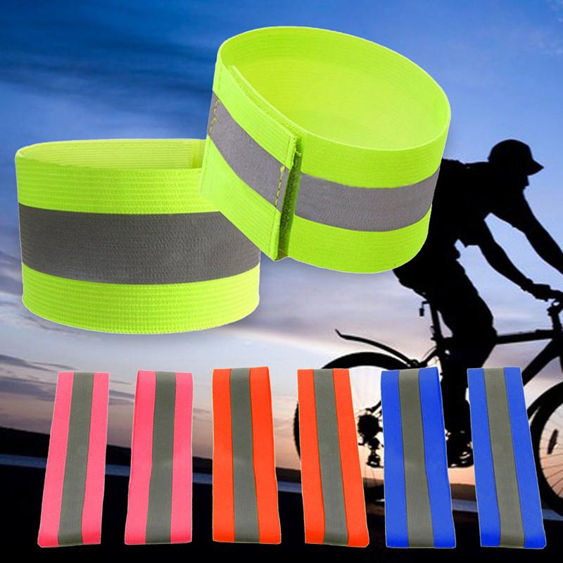 Running Night Reflective Safety Belt Night Run Armband For Outdoor Sports Night Running Cycling Jogging Arm Strap Luminous Arm Band Special Buy