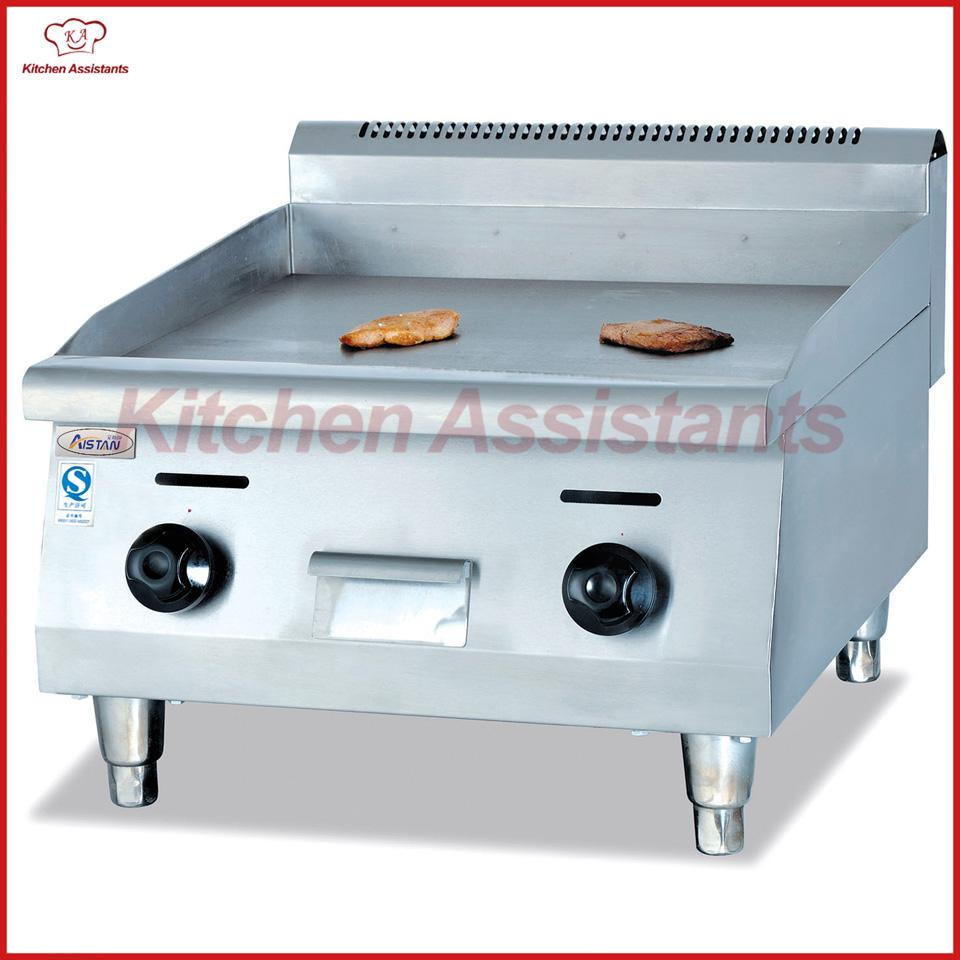 2018 Gh24 Gas Desktop Commercial Stainless Steel Griddle Machine ...