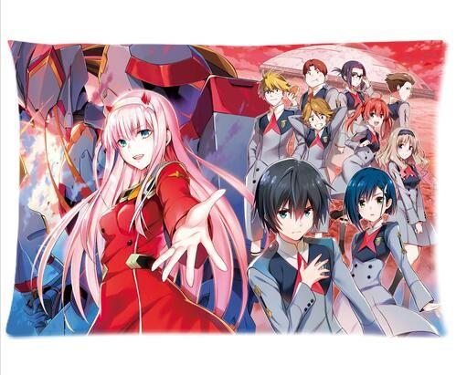DARLING in the FRANXX Zero Two Anime Dakimakura Hugging Body Pillows Cover Case3