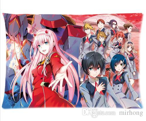 Decorative Anime Darling In The Franxx Pillow Cover Cusion