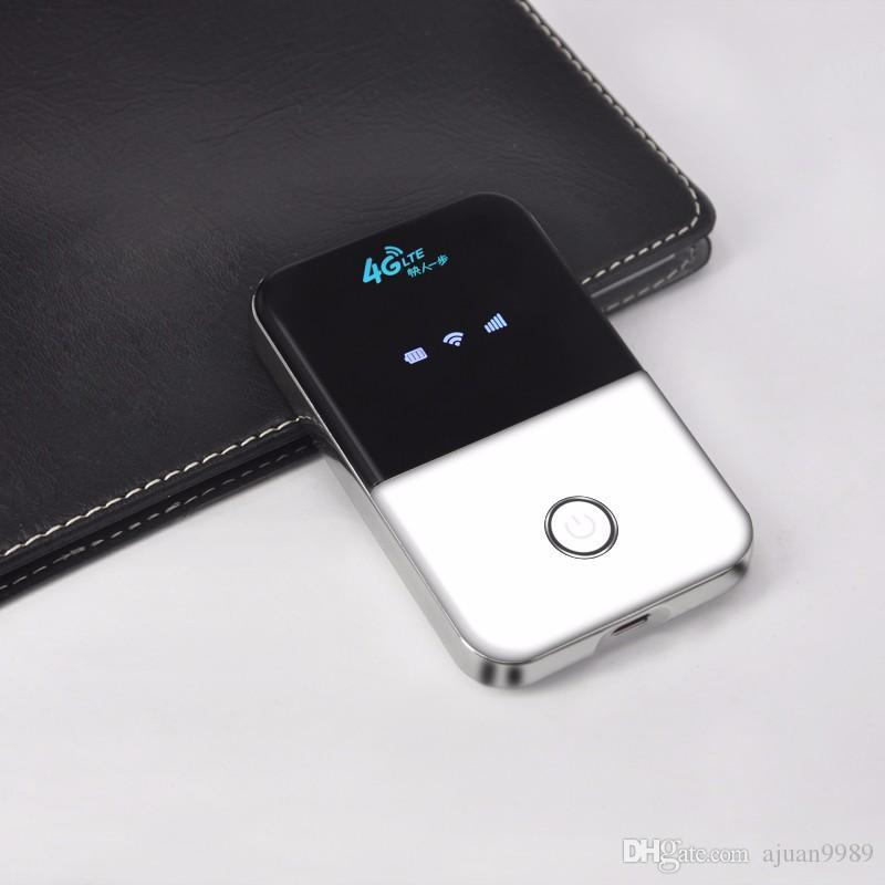 4G Hotspot разблокирован мобильный портативный Wifi маршрутизатор карманный беспроводной автомобиль Mifi модем с слот для sim-карты