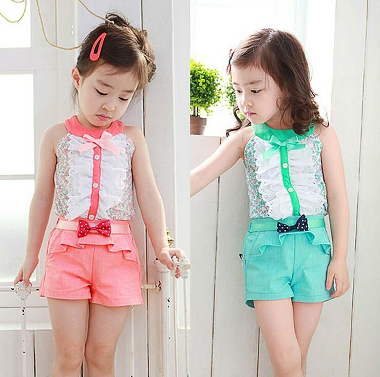 Jilly Summer Style Baby Girl Kids Clothes Bow Princess Clothing Set Baby  Girls Clothes Children Clothing Fashion 3 11Age Hot Y1892706 UK 2019 From  ... dbe8cb9de