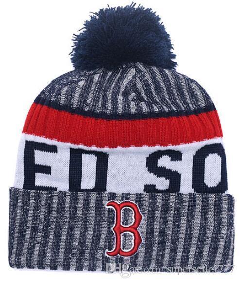 2018 Boston Beanies Winter Sox Beanie High Quality Beanie Cap Men ... 7ae9810c64