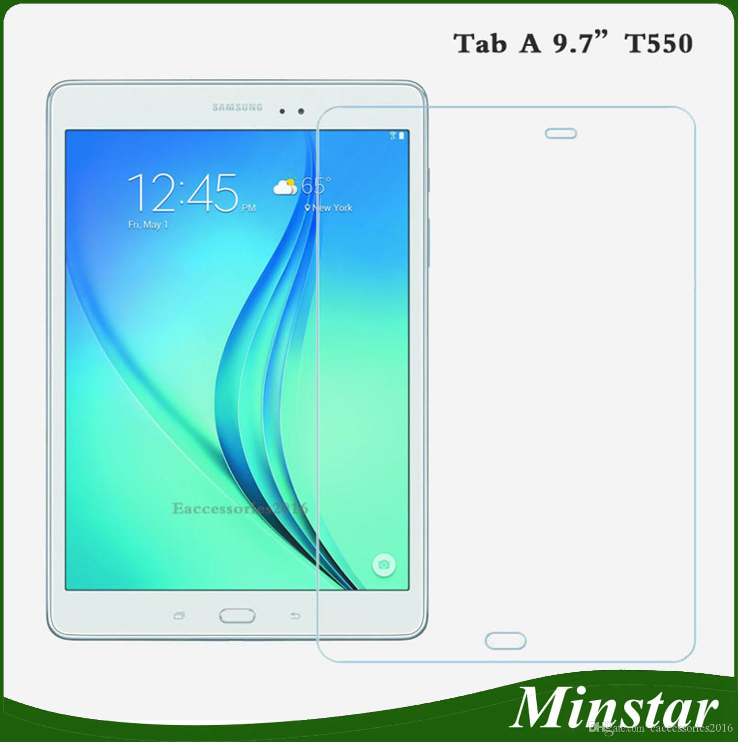 For Samsung Galaxy Tab A T350 T355 8 Inch 8 0 10 1 T550 T555 9 7 Tablet Tempered Glass Screen Protector HD Samsung Tab a Screen Protector Samsung Galaxy Tab