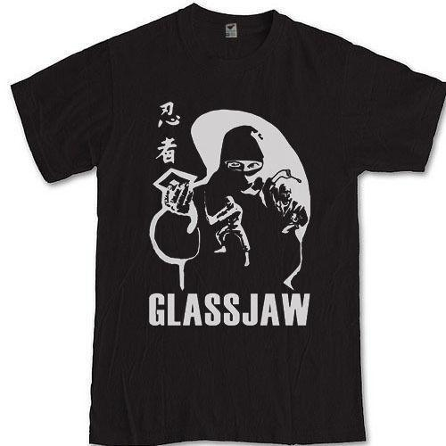 GLASSJAW ninja camiseta S M L XL 2XL 3XL post hardcore banda Head Automatica