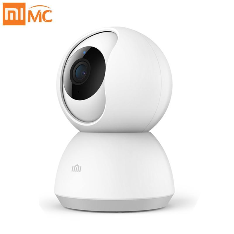 29109ea7398 Compre Xiaomi Mijia Mini Cámara IP Wifi 1080P HD Visión Nocturna Por  Infrarrojos 360 Panorámica Inalámbrica Wi Fi Cámara Web De Seguridad Para  Cámaras ...