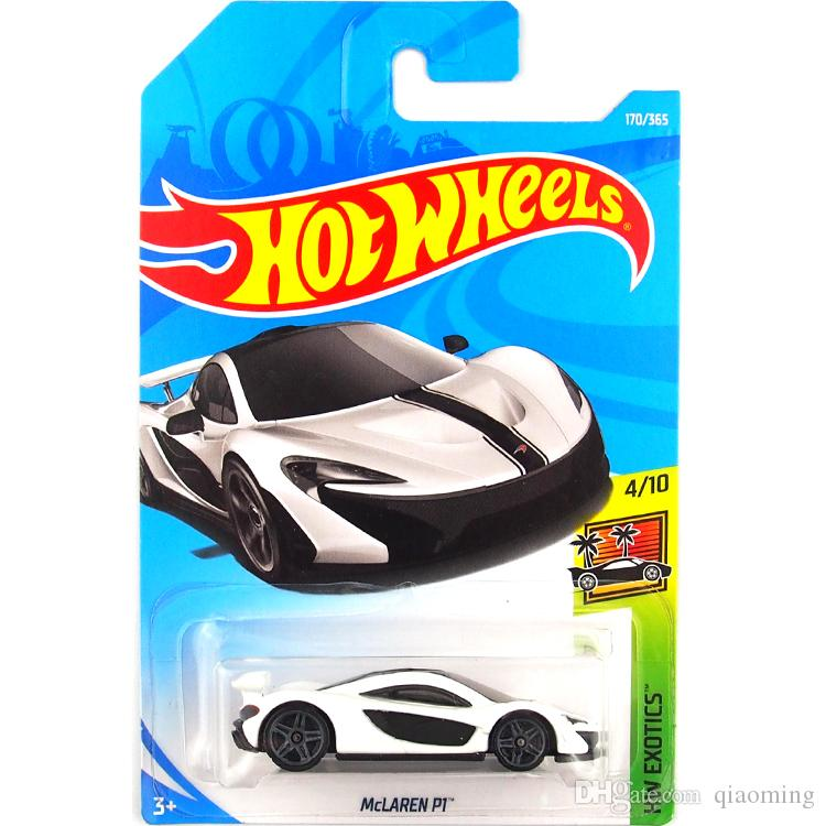 2019 Hot Wheels Mclaren P1 White Car Model Toy 170 From Qiaoming