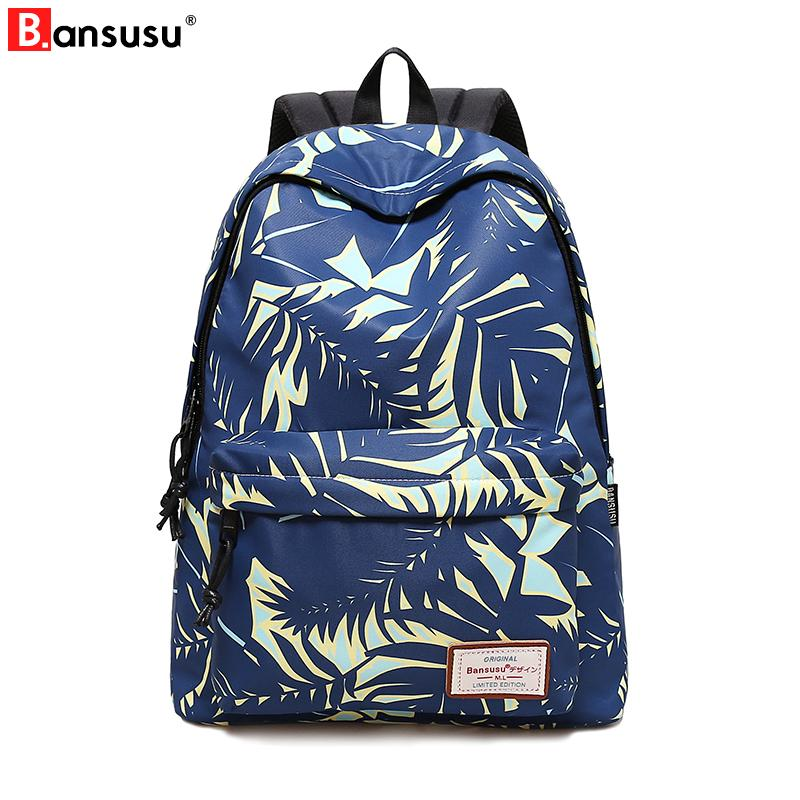 8cca79361d Waterproof Cat Printing Backpack Women School Students Back Pack Female 14  15.6 Inch Laptop Cut Bag For Girls Imok Backpacks Bags From Wasabiu, ...