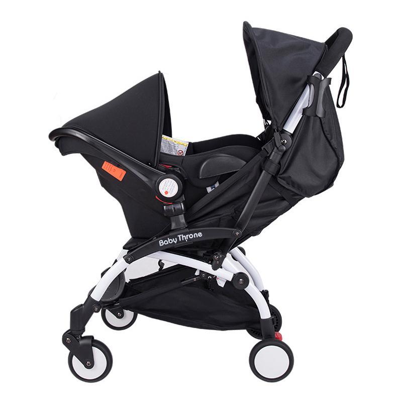 2018 Portable Collapsible Baby Stroller 4 In 1 Aluminium Alloy Pram ...