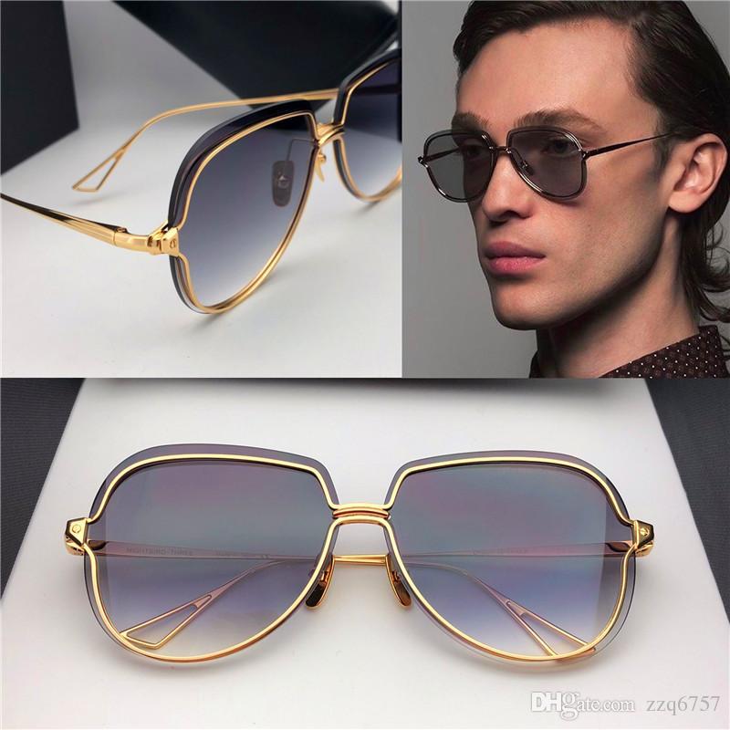 990eea83d593 New Fashion Women Sunglasses Nightbird Three Metal Frameless Avant ...