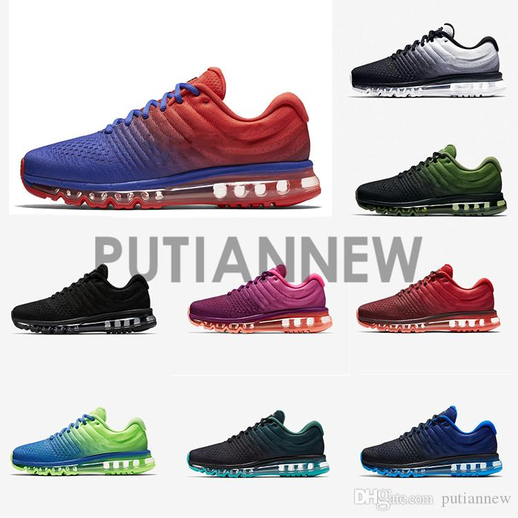 Free Shipping Hot Sale Black White Sport Mens Athletic Shoes New High Quality Men Women Maxes 2017 KPU Running Shoes Size 39-45 extremely buy cheap the cheapest sale low price 9SFcB