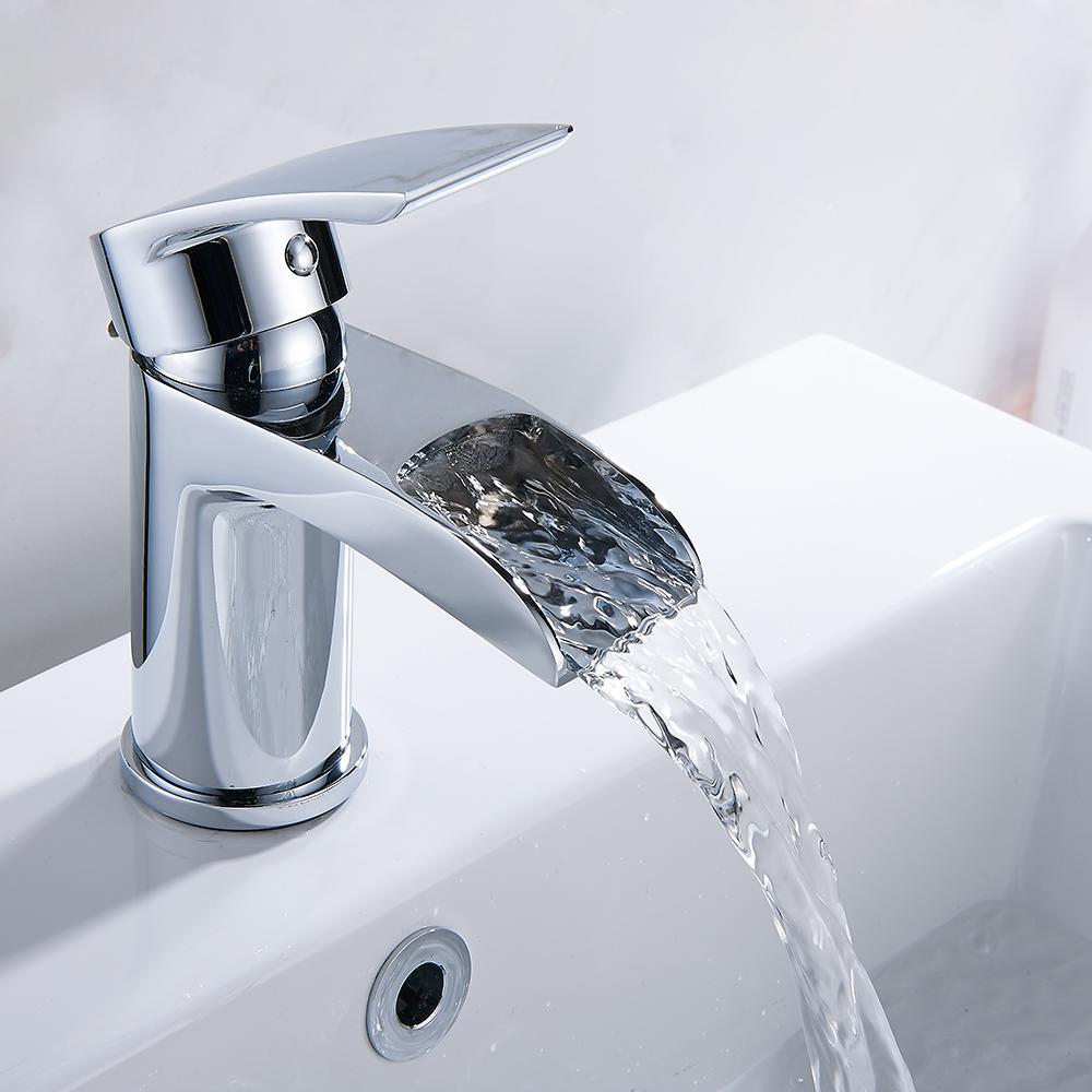 Großhandel Everso Antik Messing Wasserfall Waschbecken Wasserhahn ...