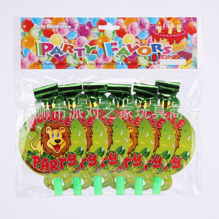 Party Supplies Jungle Party Kids Baby Birthday Decoration Disposable