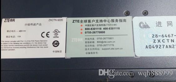 100% de travail pour ZTE ZXSDR R8881 S9000RRU ZTE ZXCTN 6220 BBU ZTE ZXDR R8862A S1800