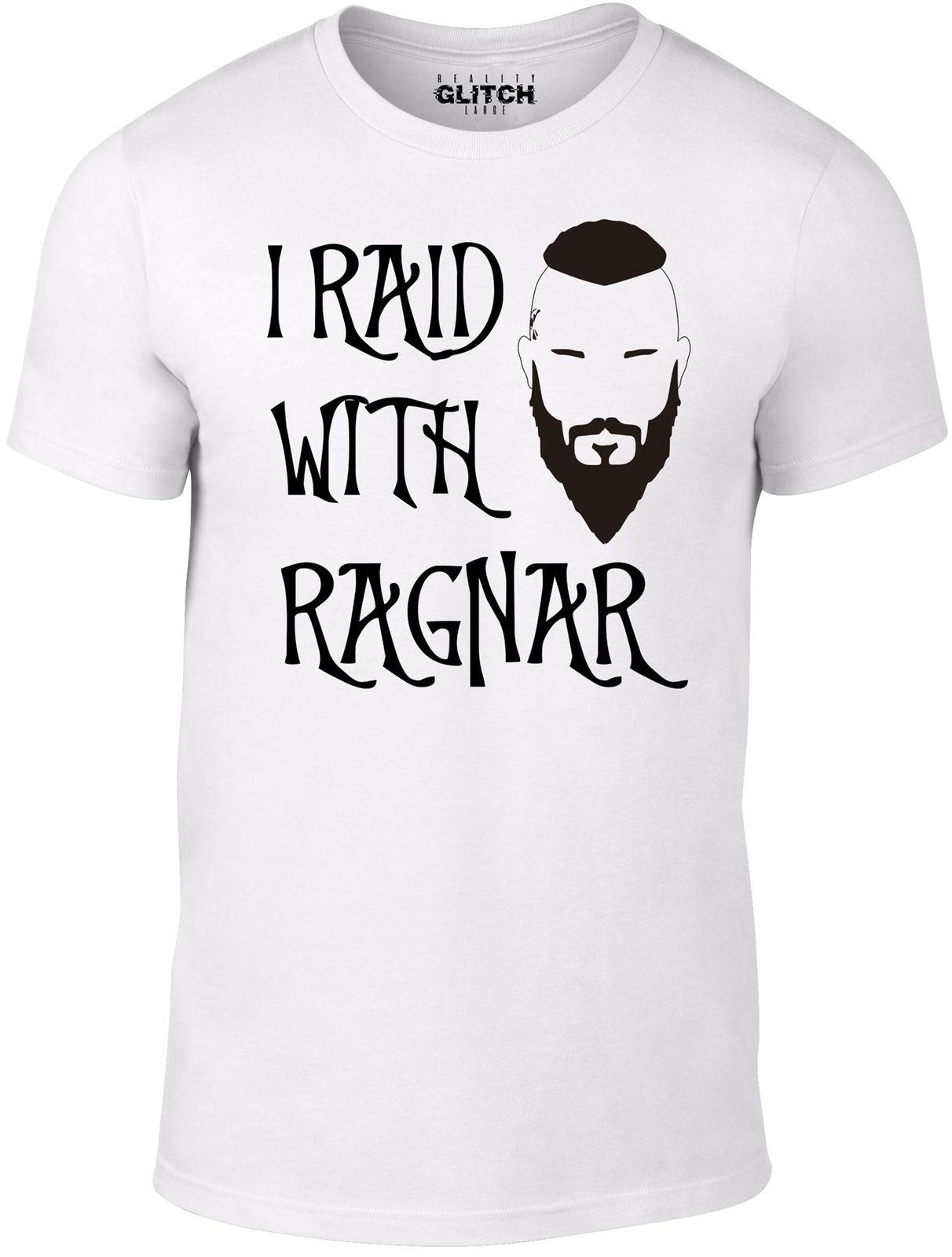 29ddd8d6 I Raid With Ragnar T Shirt Inspired By Vikings TV Series Norse Lothbrok  Legend Nerd T Shirts Design Shirt From Shop4ever, $11.01  DHgate.Com