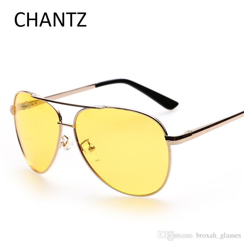 e5103d575ee Retro Night Vision Glasses Men Polarized Sunglasses Alloy Frame Driving Sun  Glasses Spring Hinge UV400 Gafas De Sol Hombre Sunglasses For Women Cat Eye  ...