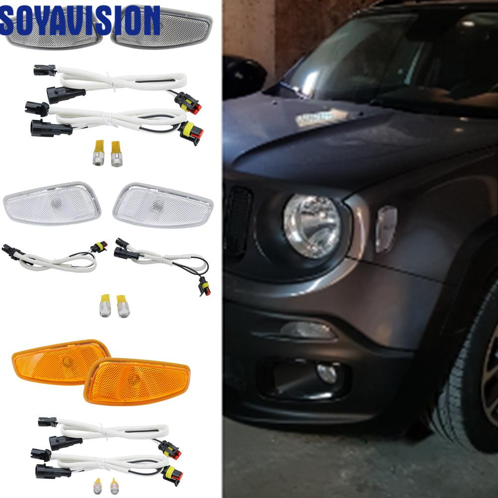 2019 Soyavision For Jeep Renegade Led Light Side Turn Signals For