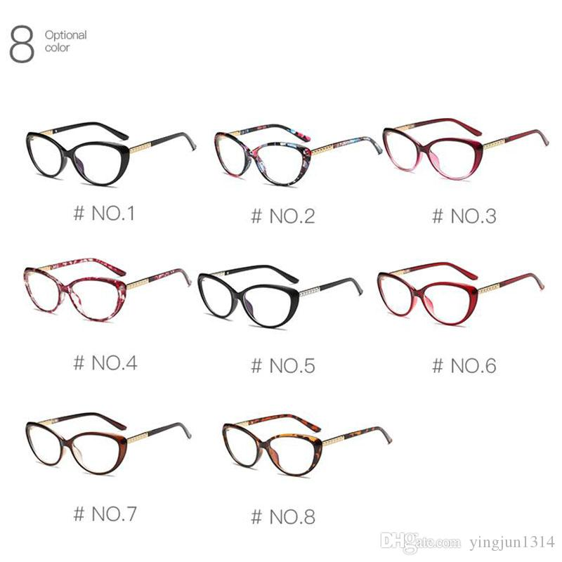 Women Retro Cat Eye Eyeglasses Brand Spectacles Glasses Optical Spectacle Frame Vintage Computer Reading Glasses oculos