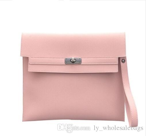 Women Casual Clutch Bags PU Leather Handbags Purse Famous Brand ... 36fa478413453
