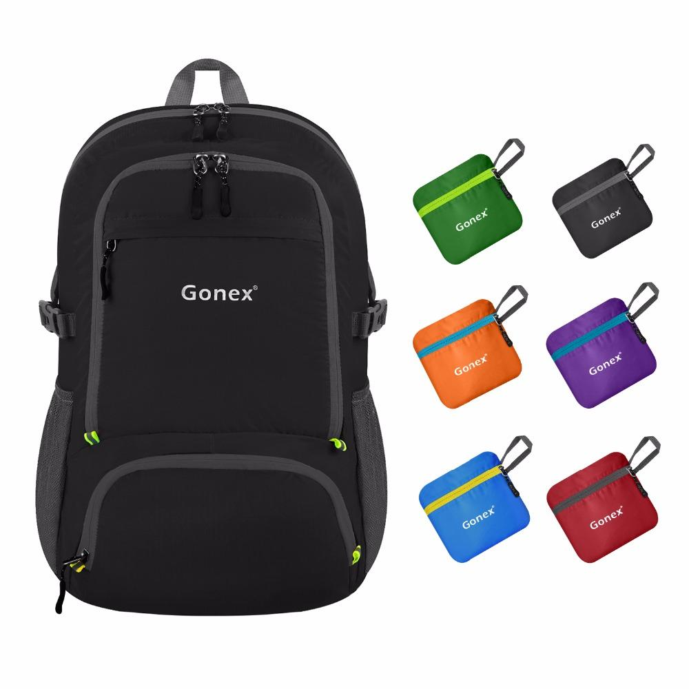 a2efa1854ef5 Gonex 30L Ultra Lightweight Packable Backpack Hiking Daypack Handy Foldable  Camping Outdoor Travel Cycling School Backpacking Backpacks For College ...