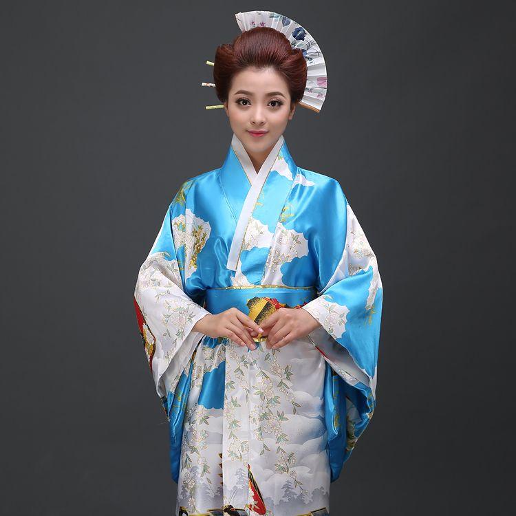 348c556e2 2019 2018 New Japanese Traditional Cotton Clothing Kawaii Japan Yukata  Kimono Women Flowers Kimono Dress Yukata Japanese From Hiem, $42.07 |  DHgate.Com