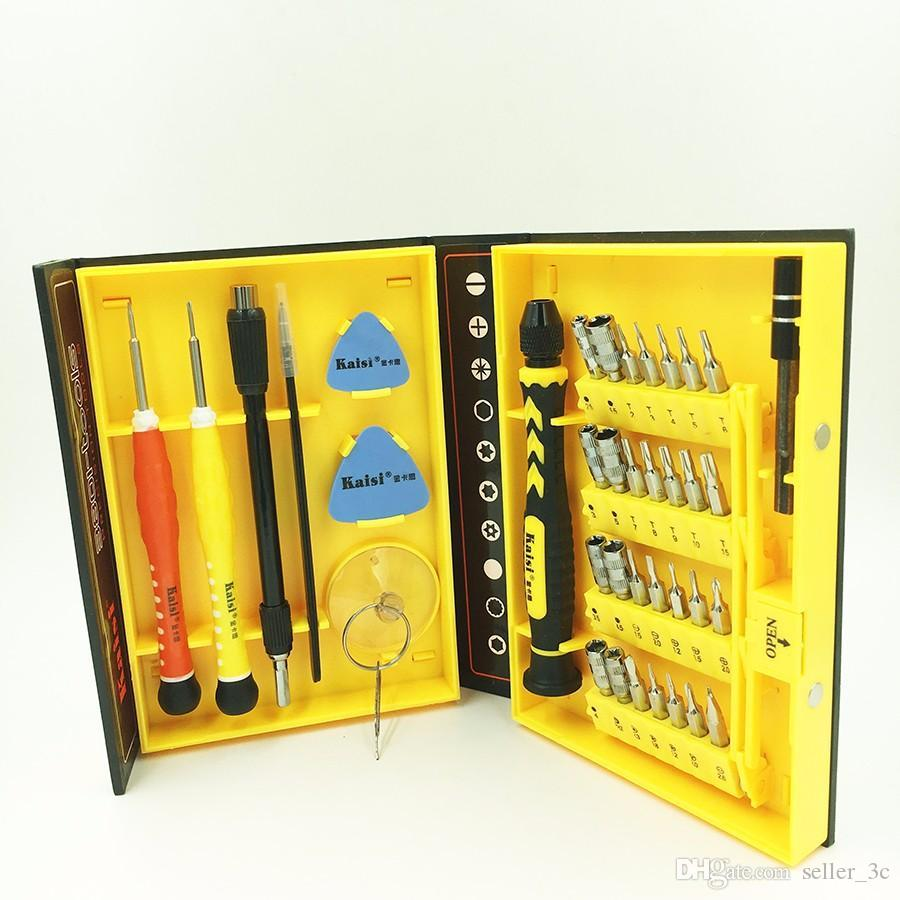 Mini Magnetic Screwdriver Tool Set 38 In 1 Electron Torx Hand Tools Kit Opening Repair for PC, laptop, Iphone, mobile phone,watch KKA1251