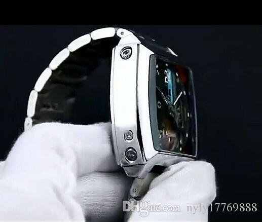 En kaliteli Adam Askeri İzle Paslanmaz çelik Rahat kol saati Ünlü marka Mekanik Otomatik İzle erkek saat B1