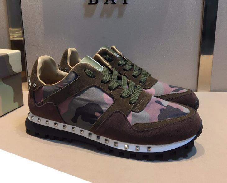 5e724ca719e Original Box 2018 Luxury Designer Rock Stud Sneaker Shoes High Quality Women