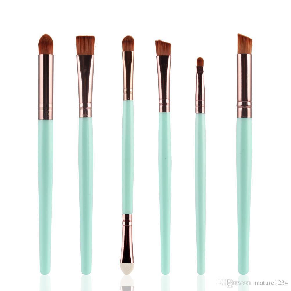 es de la mano marca de maquillaje de pinceles de maquillaje cosmético profesional con Contorno en polvo cosméticos cepillo de maquillaje