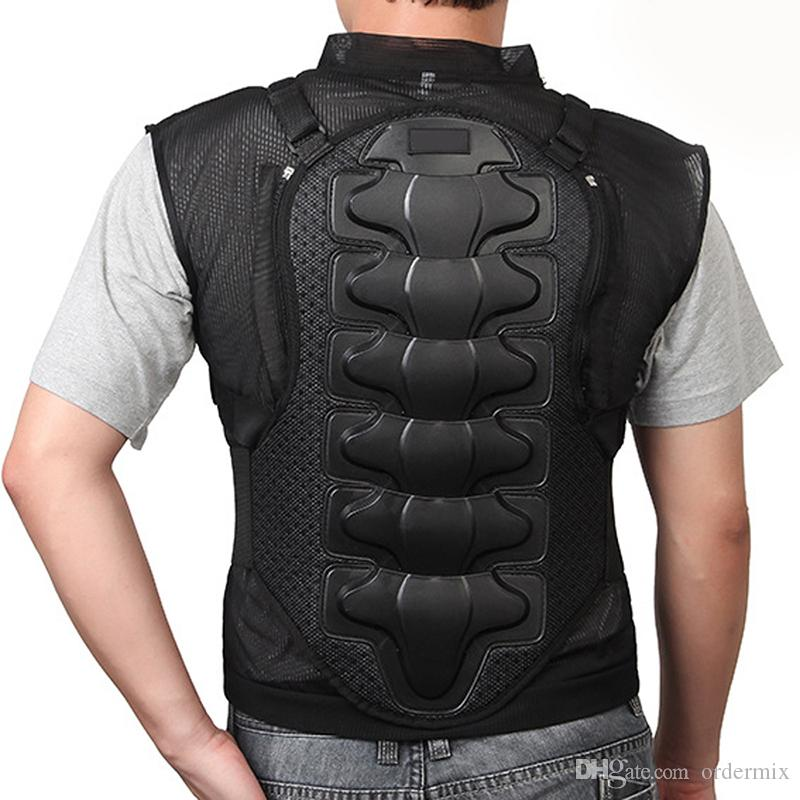 NFS-416 Professional Motorcycle Body Armor Jacket Moto Motorcross Racing Chest Back Protector Gear Racing Body Protection Armor Jacket