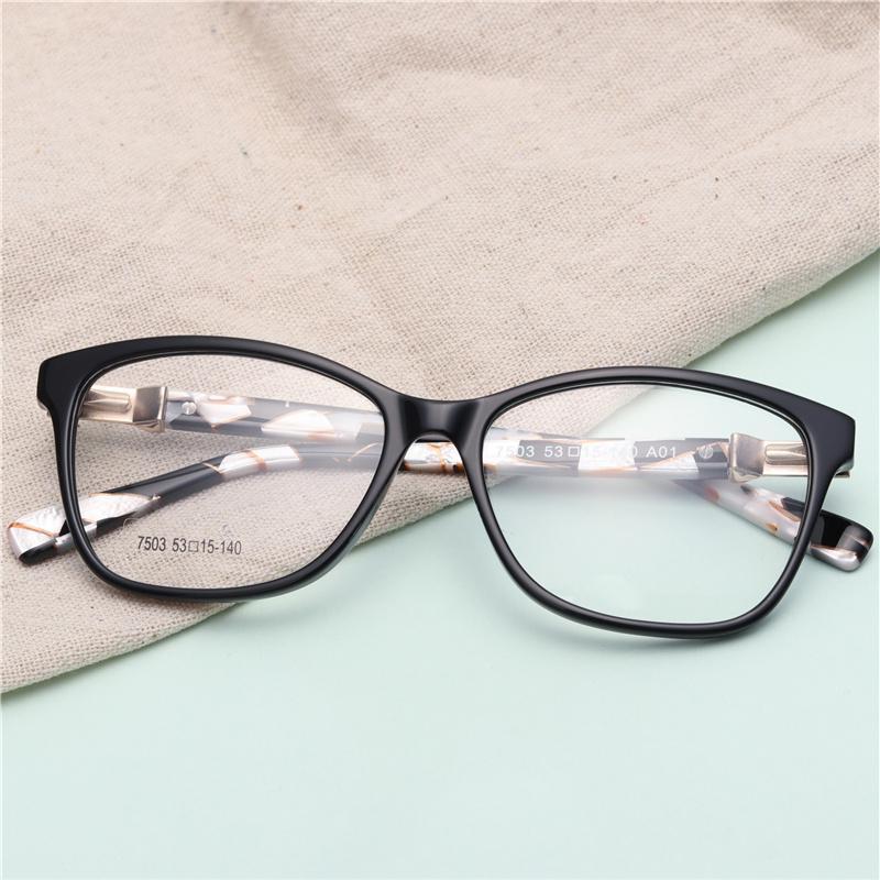 ba6d400b77 Compre Marco De Gafas De Acetato De Mujer Oliver People Diseñador De Gafas  De Miopía De Espejo Transparente # GP7503 A $24.08 Del Fengyune | DHgate.Com