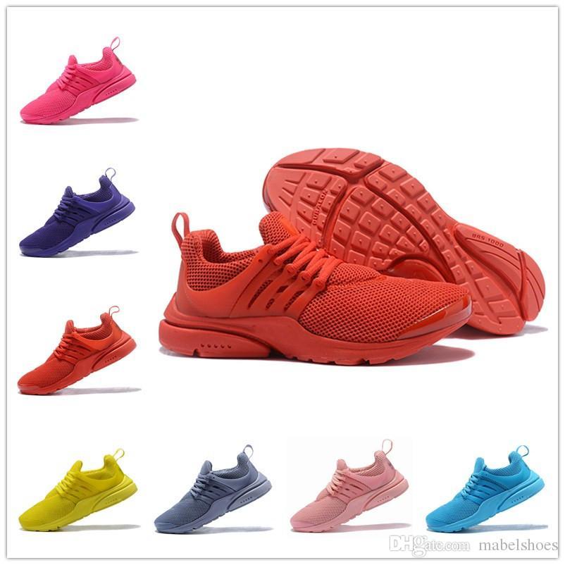 half off 3e743 7b3e5 Acheter Pas Cher Presto Ultra Mens Run Chaussures Triple Jaune Rouge Rose  Bleu Violet Gris Chaussette Dart Femmes Casual Chaussure Sport Designer  Sneaker De ...