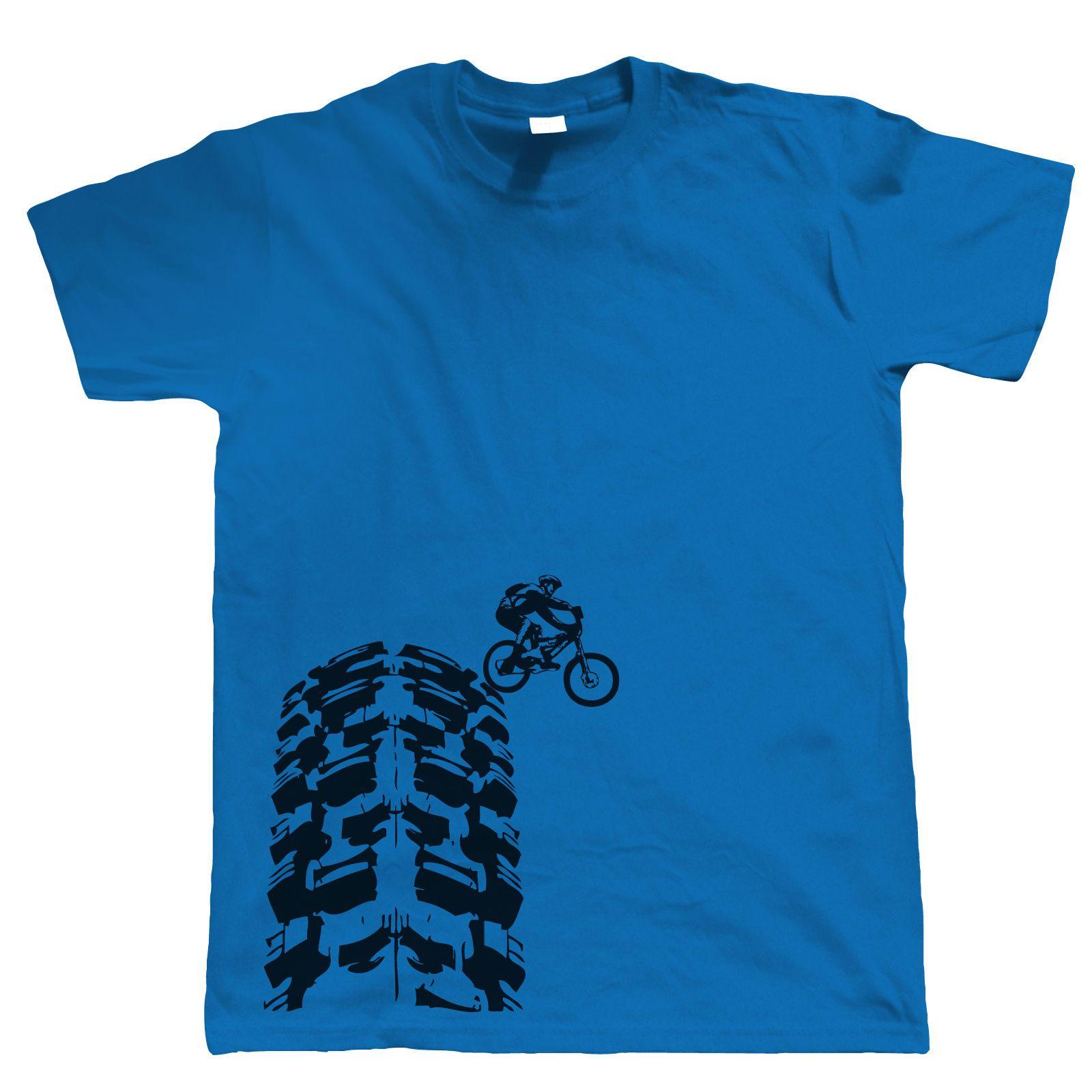 Single Track T Shirt Dh Mountain Bike Mtb Downhill Choice Of Colours