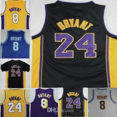 2018 Men 9 Kobe Bryant 24 Bryant Jersey Swingman 100% Stitched ... 1f1c72152