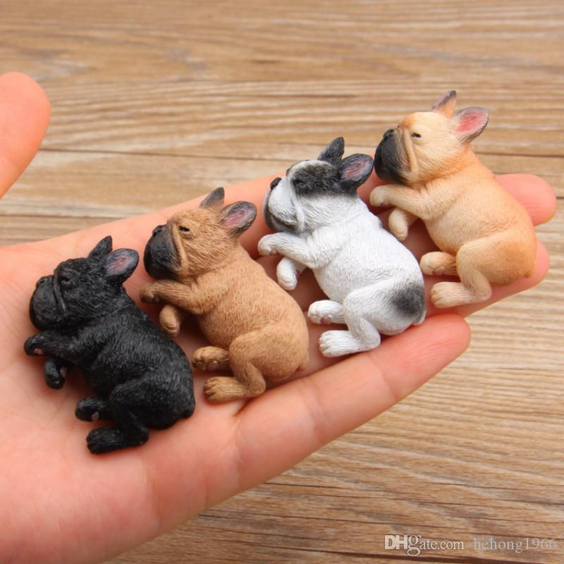 Animal Refrigerator Sticker DIY Cute Sleeping Dog Fridge Magnets Home Decoration Multi Color New Arrive 6 86rz T