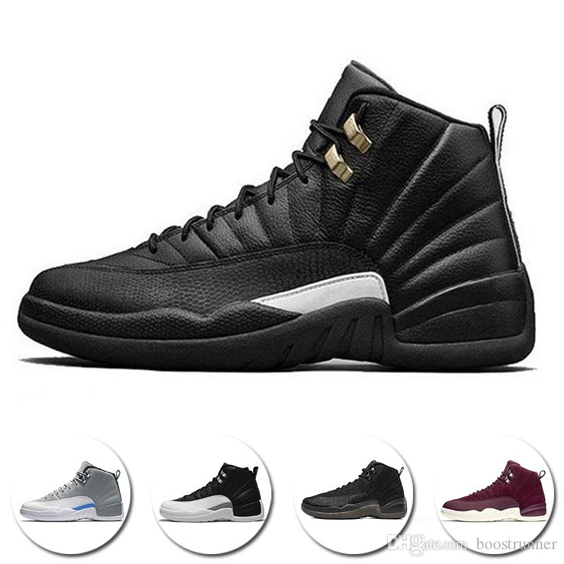 Hot Sale Basketball Shoes 12 12s OVO White Gym Red Dark Grey Sports Shoes  Men Women Taxi Blue Suede Flu Game CNY Sneakers Shaq Shoes Kd Basketball  Shoes ... 2df4051128af