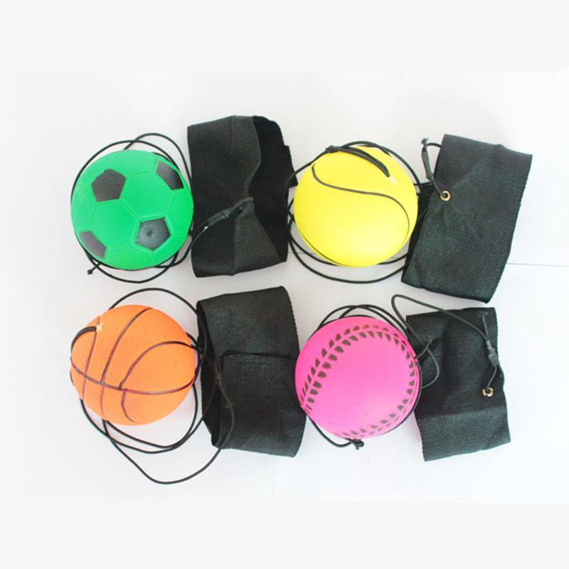 Compre 63mm Bouncy Bola De Borracha Fluorescente Banda De Pulso Bola Jogo  De Tabuleiro Engraçado Bola Elástica Treinamento Antistress Brinquedo Jogos  Ao Ar ... 93faa8b2e23