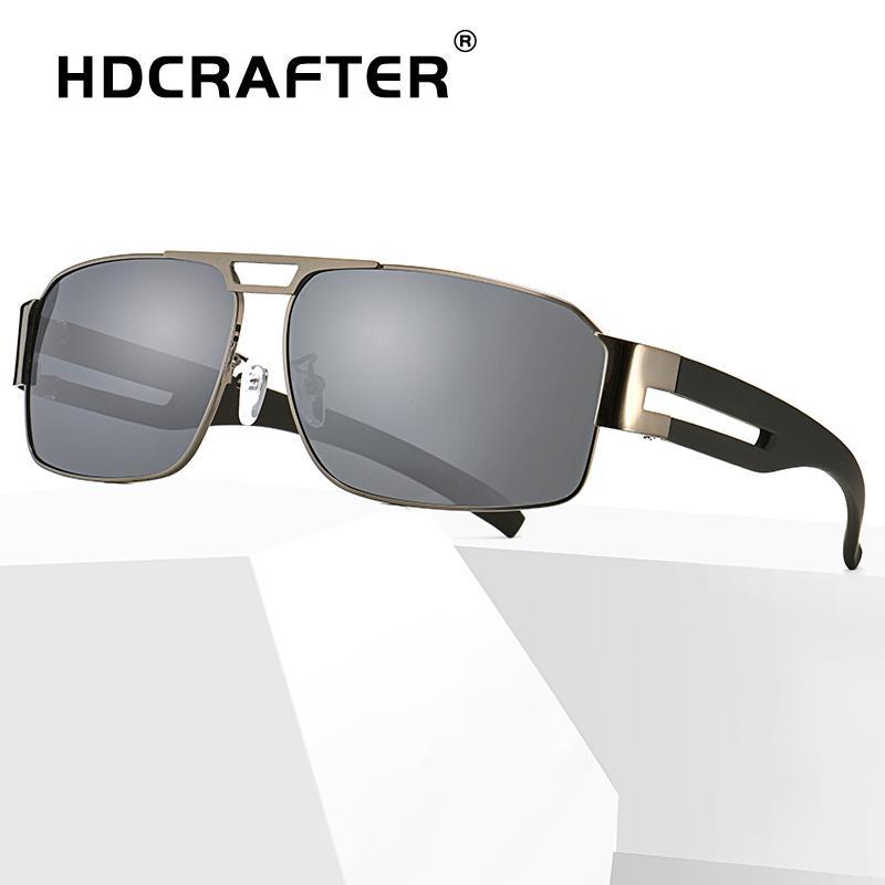 efae7acb0 HDCRAFTER Polarized Sunglasses Men Driving Sun Glasses UV400 Eyewear Male  With Box Sunglasses Cheap Sunglasses HDCRAFTER Polarized Sunglasses Men  Online ...