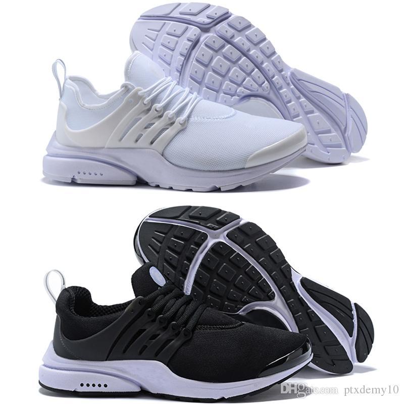 dfa1db6f759 Compre Nike Air Presto Ultra Low Tennis Shoes Melhor Qualidade Prestos 5 V  Tênis De Corrida Das Mulheres Dos Homens 2018 Presto Ultra BR QS Amarelo  Rosa ...
