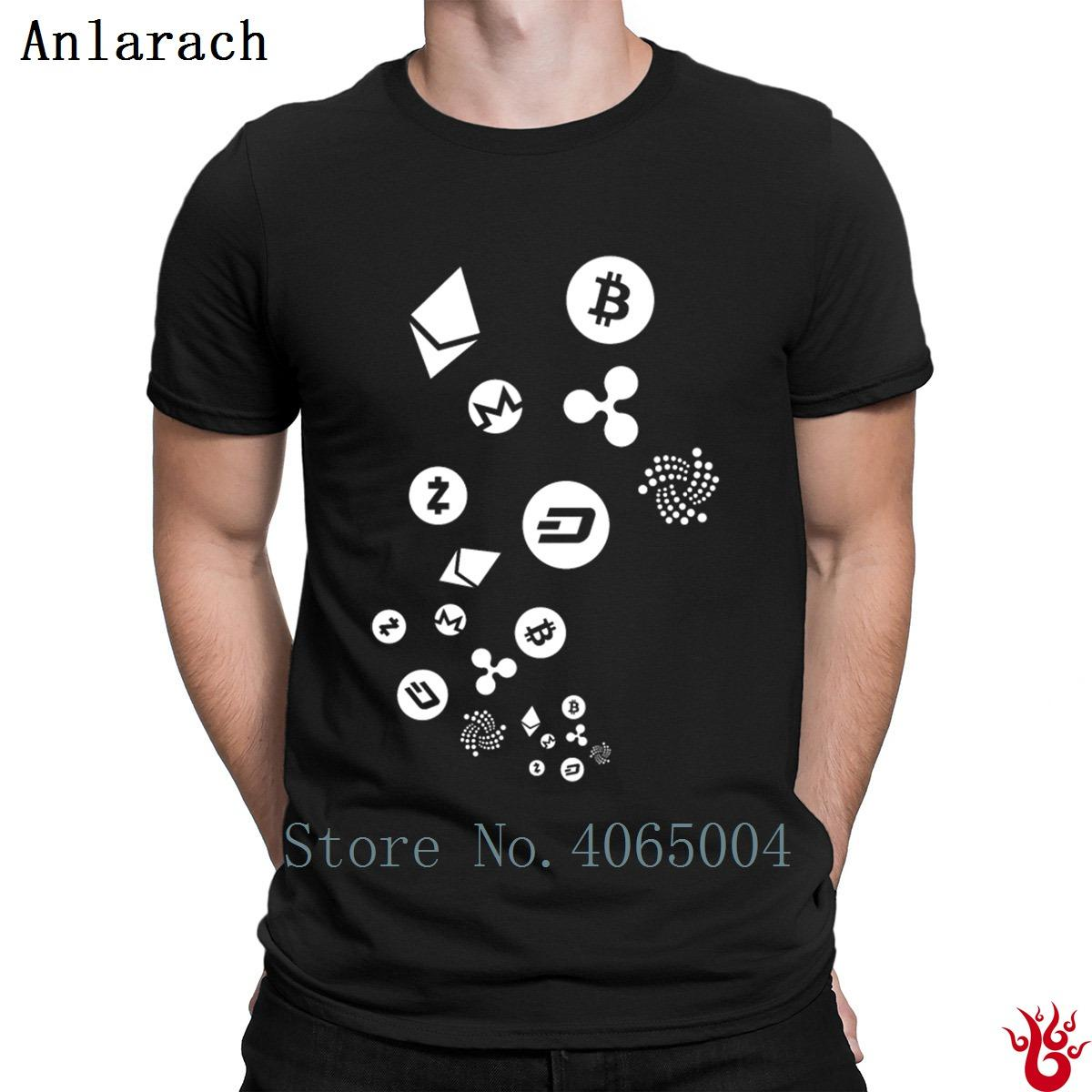 8c7fa30a Cryptocurrency Tshirts Cotton Outfit Hiphop Tops Natural Men's T Shirt 2018  New Fashion Customized Loose Plus Size 3xl