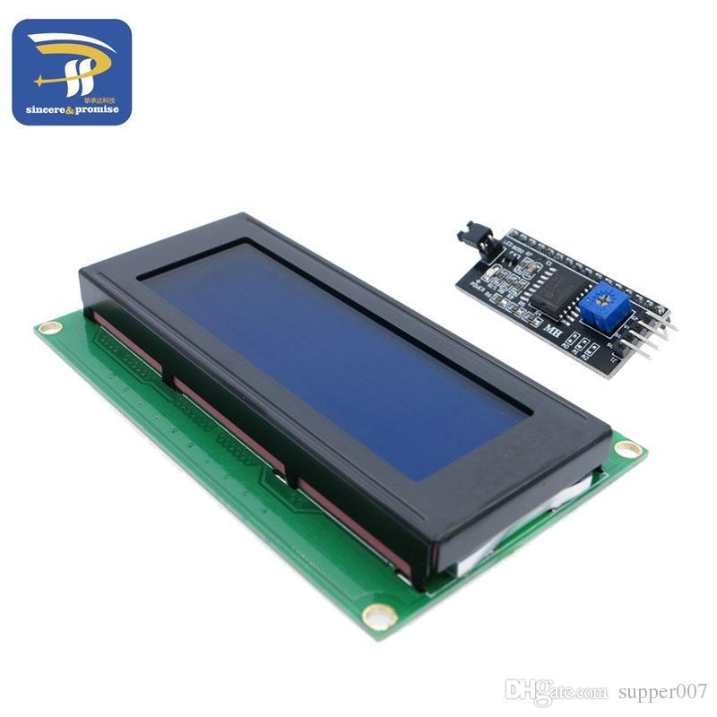 20x4 2004A blue screen HD44780 for arduino Character LCD /w IIC/I2C Serial  Interface Adapter Module