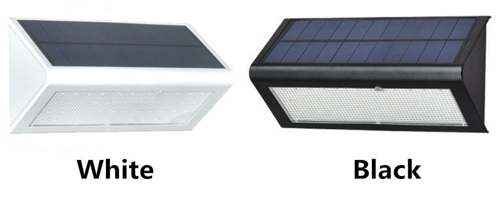 جودة عالية السطوع 4 Modse 800LM مقاوم للماء 48 LED الخفيفة للطاقة الشمسية 2835 SMD الأبيض الطاقة الشمسية حديقة في الهواء الطلق