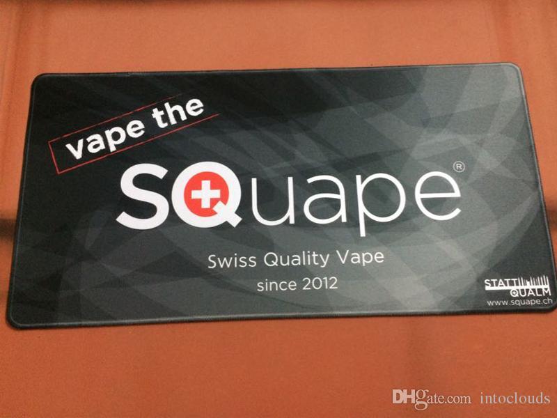 Custom vape mats printing logo or design large build mouse pads OEM privately made vapor mats