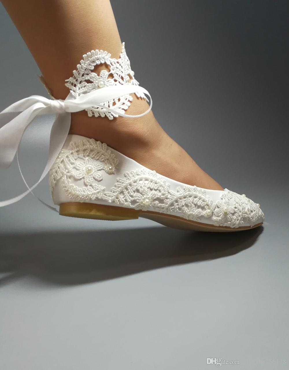Handmade Shoes Wedding Waterproof White Bride Dresses Han Edition Diamond Lace Manual Flat Shoe Female Butterfly Canada 2019 From: Dress Flat Wedding Shoes At Websimilar.org