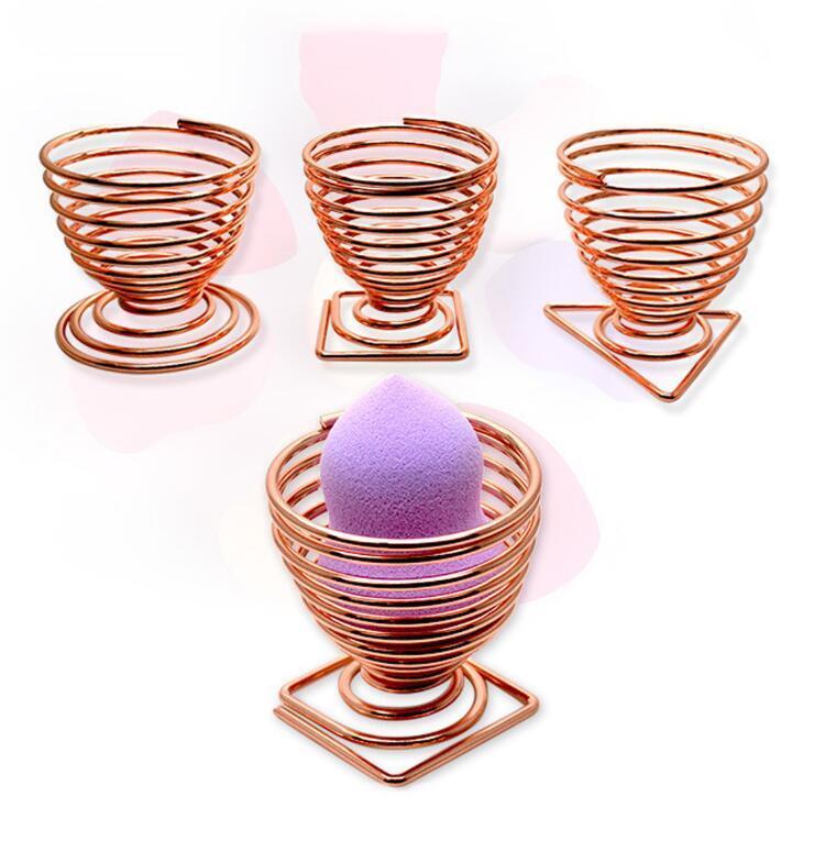 Portafogli trucco Spugna cosmetici Portabottiglie cosmetici Spugna uova Portabatteria asciugatura Make up Soffio Supporto 9 style DHL