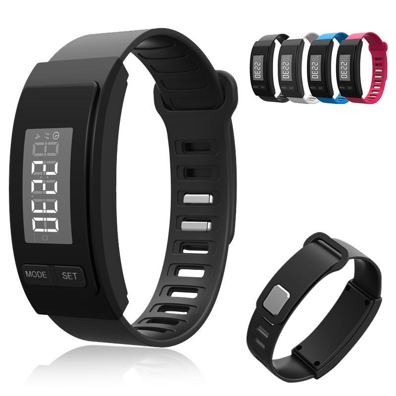 Bluetooth Fitness Smart Tracker Schrittzähler Läuft Schritt Zähler Bluetooth Sport Smart Armbanduhr Für Mann Frauen Sport & Unterhaltung