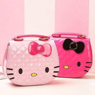 302fadaa1f Character Kids One Shoulder Bag Inclined Shoulder Bag Hello Kitty Big  Bowknot Girls Cartoon Handbags Children Mini Waterproof Bags Ladies  Backpack Backpacks ...