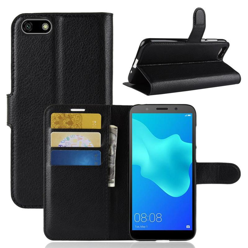 check out ed6e5 8cac7 For Honor 7A Case Honor 7A DUA-L22 Case 5.45 Flip PU Leather Phone Case For  Huawei Honor 7A 7 A Honor7A Russian Version Back Cover