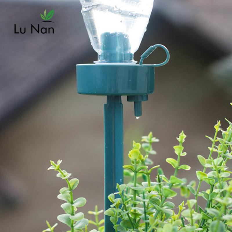 Fai-da-te automatico-irrigazione Seepage Moving Waterer Bottles Bottiglie Pigro Water Water Drip Irrigation Device Controller